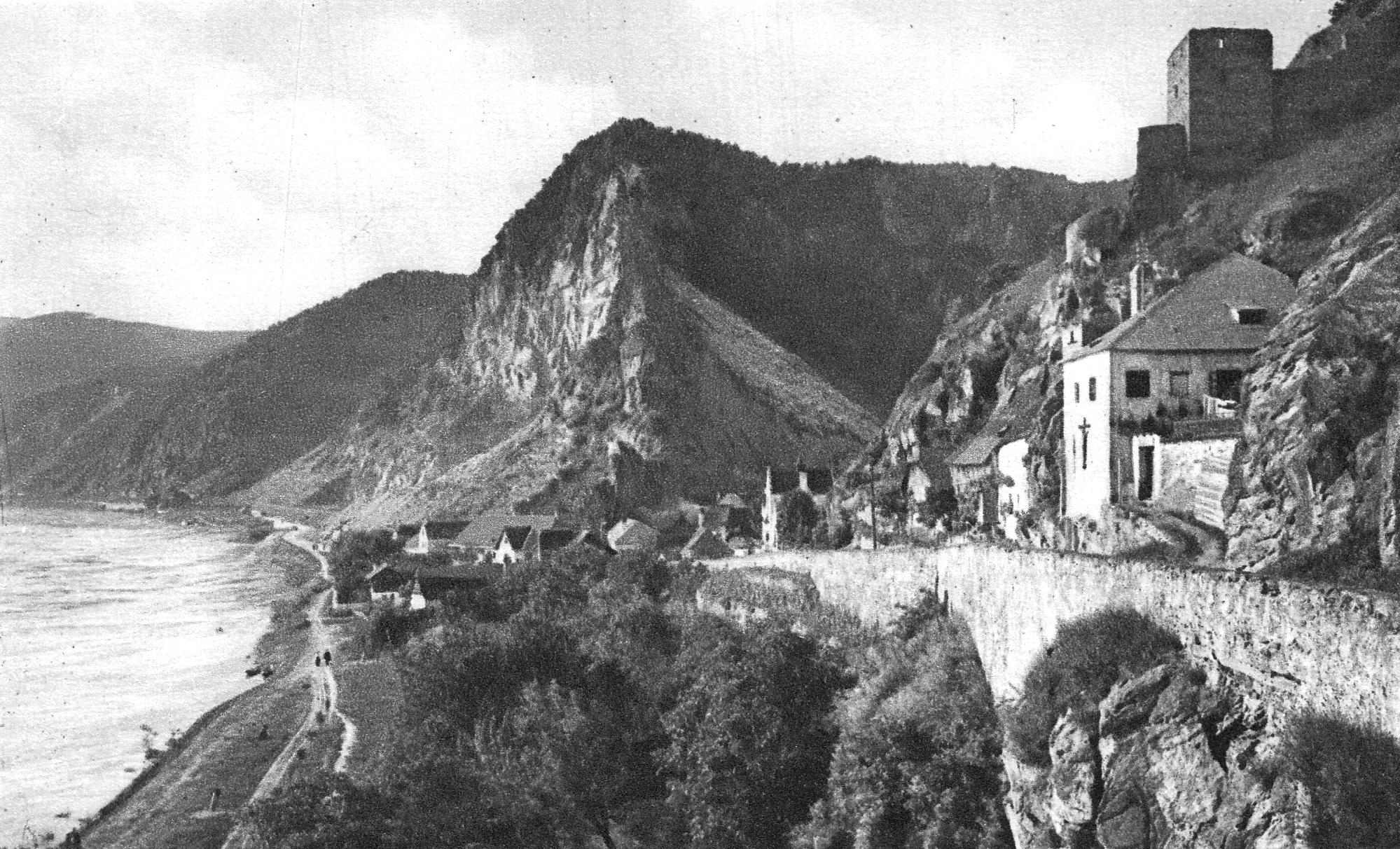 Link und Headerbild zu den Texten für die Niederösterreich Werbung von Volker Müller, Contexter.at Postkarte Schloss Dürnstein (c) Wolfgang Sauber - Eigenes Werk